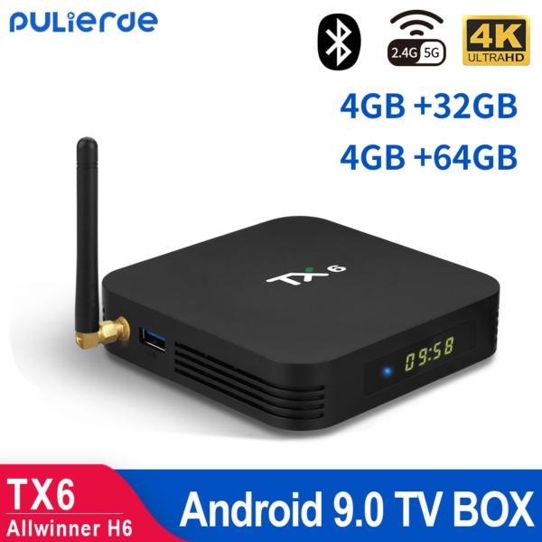 Bảng giá [Hot Sale][Sản phẩm mới] Hộp TV thông minh TX6 Allwinner H6  hdh android 9.0 cấu hình 4GB RAM 32GB ROM Quad Core độ phân giải 6K Trình phát đa phương tiện kết nối Wifi không dây Điện máy Pico