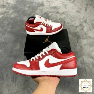 (FREESHIP+HỘP+QUÀ) Giày Thể Thao AIR JORDAN 1 Low Gym Red White Màu đỏ Trắng Cổ Thấp Cực đẹp Và Phong Cách Cho Cả Nam Và Nữ thumbnail