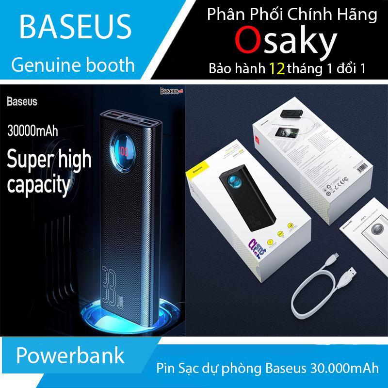 Pin Sạc dự phòng Baseus Powerbank 30.000mAh QC 3.0 33W - Baseus 33W ( Bảo hành 12 tháng )