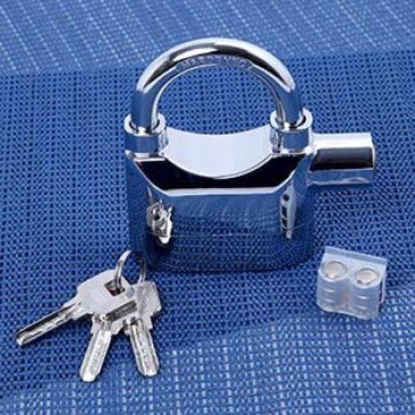 [SIÊU TIỆN ÍCH] Ổ khóa báo động chống trộm Kinbar Alarm Lock 110DBA,Được thiết kế với model sang trọng, bền đẹp.Được trang bị tới bộ 3 chìa khóa  còi báo động âm thanh lên đến 110dB,cơ chế hoạt động thông minh và đơn giản