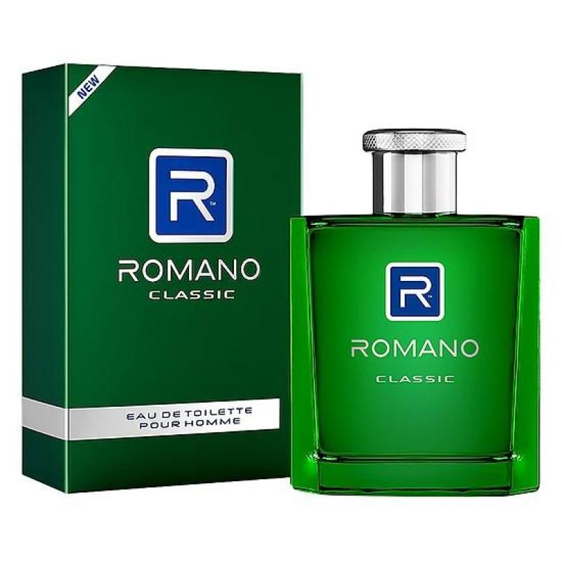 Nước hoa Romano Classic Cao cấp 50ml (màu xanh)
