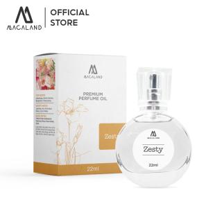 Nước hoa nữ Zesty MACALAND 22ml dạng xịt dành cho nữ ưa thích mùi ngọt ngào thumbnail