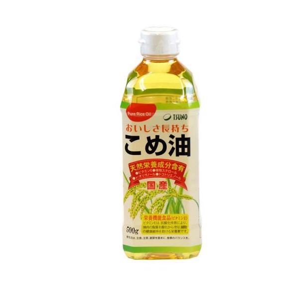 Dầu Gạo Nhật Bản Tsuno Nguyên Chất (500g)
