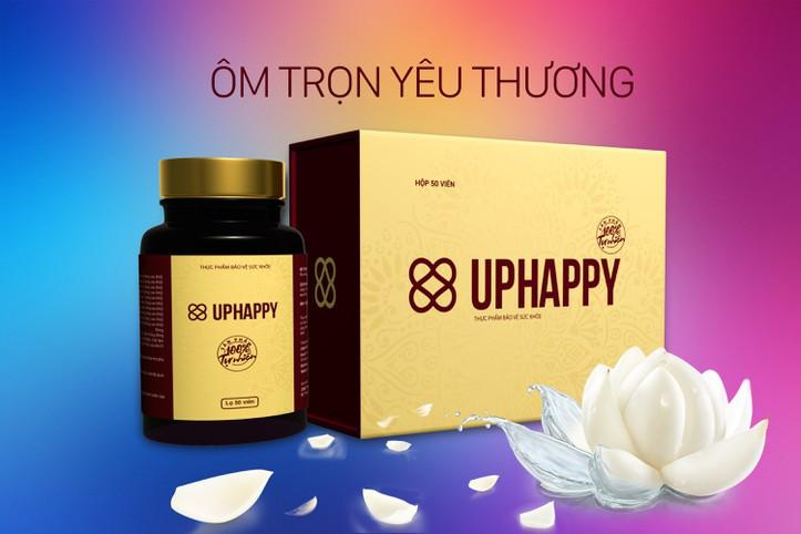 UPHAPPY - Thực phẩm chức năng Hỗ trợ co hồi tử cung 50 viên