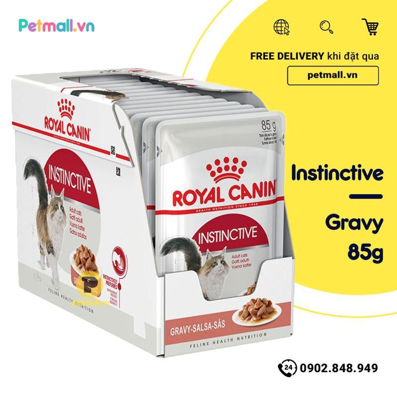 Pate mèo Royal Canin Instinctive Gravy 85g - Hộp 12 gói