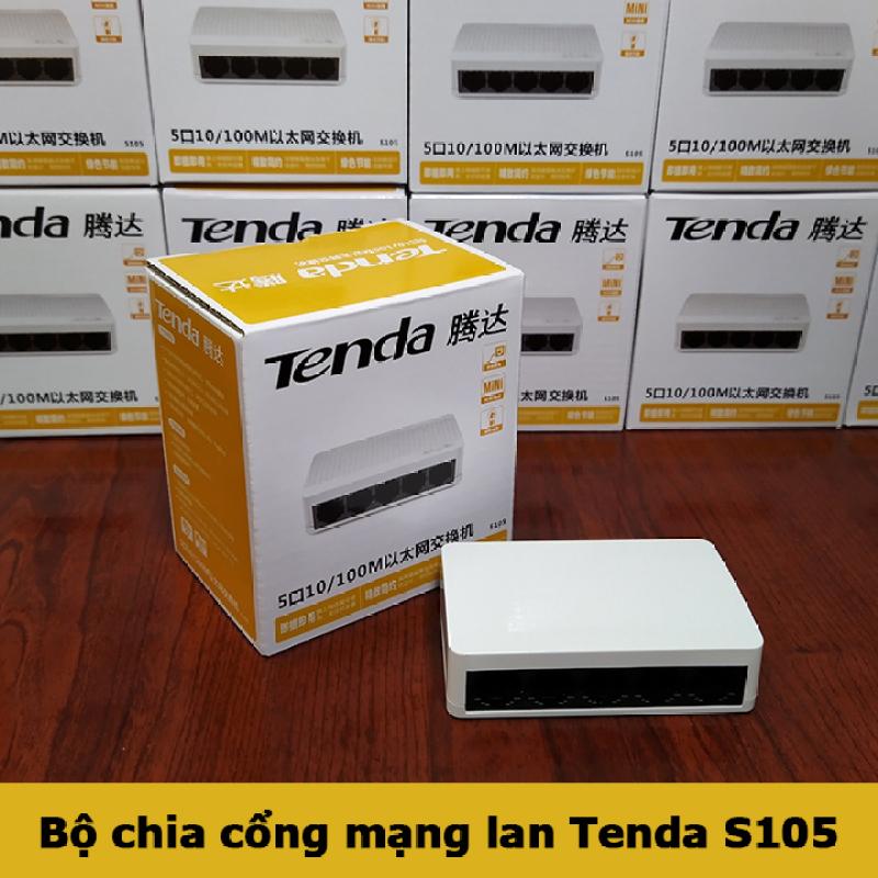 Bảng giá Bộ chia mạng lan switch tenda s105 5 cổng Phong Vũ