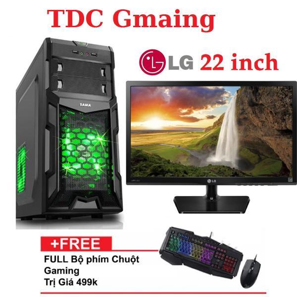 Bảng giá { FULL } Bộ máy tính game TDCGaming intel core i7 2600/ Ram 8gb/ Hdd 2000gb , Màn hình LG 22 inch, Tặng phím chuột giả cơ chuyên game , Bảo hành 24 tháng 1 đôi 1. Phong Vũ