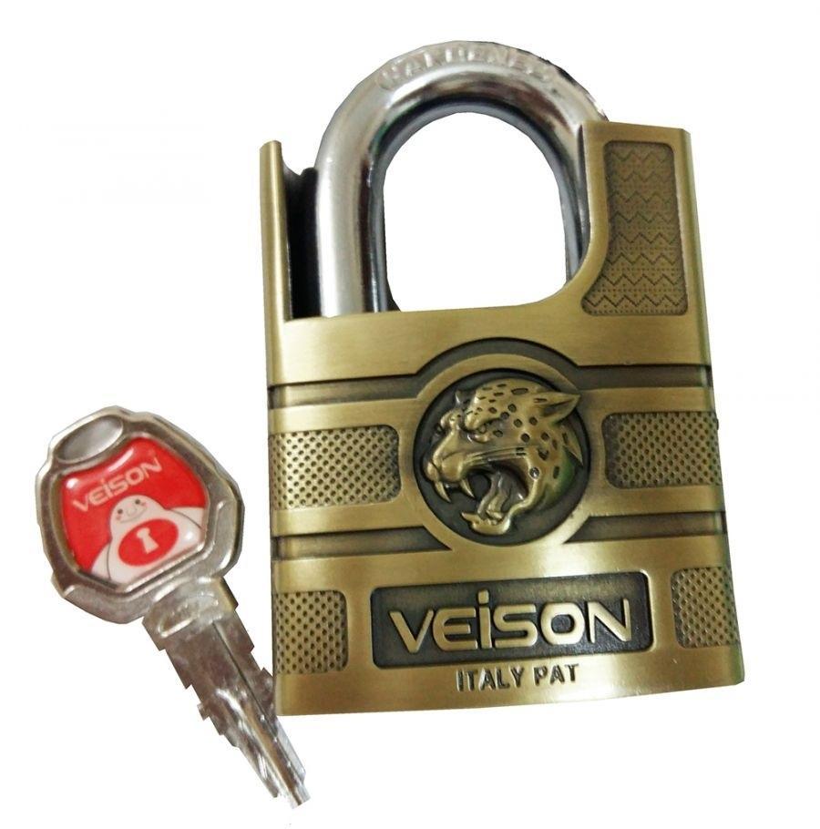 Ổ khóa chống cắt 60mm Veison hợp kim thau và thép chống gỉ