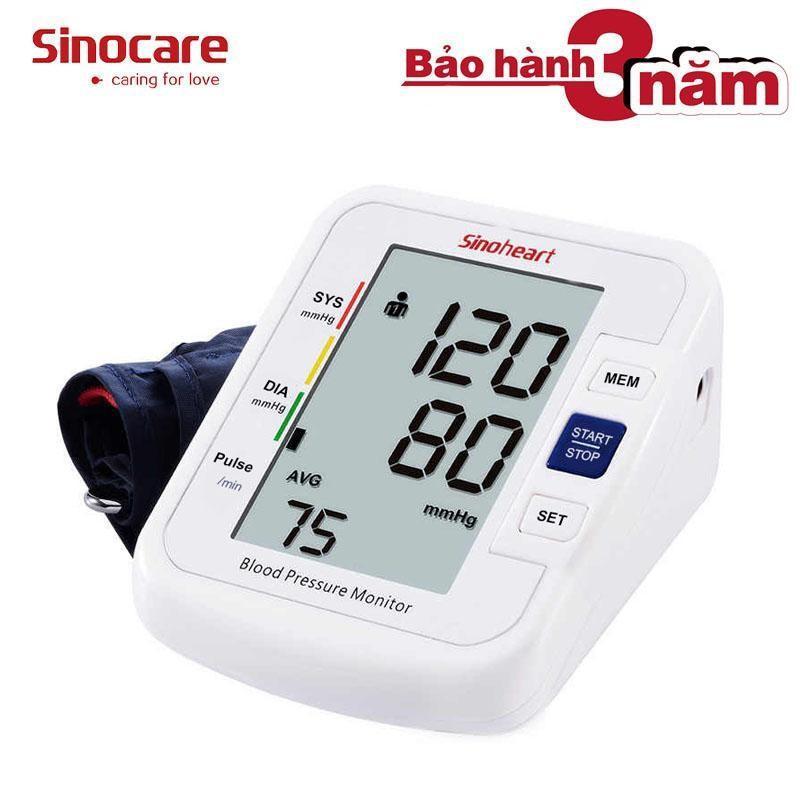 Nơi bán Máy đo huyết áp điện tử bắp tay Sinoheart BA-801