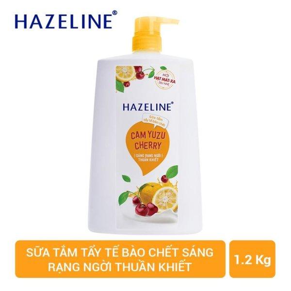 Sữa Tắm Hazeline Tẩy Tế Bào Chết Cam Cherry 1.2kg