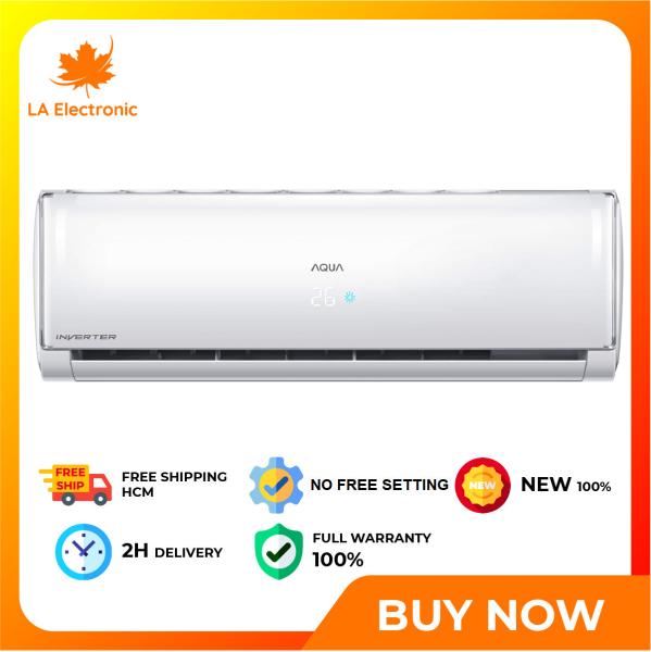 Bảng giá Trả Góp 0% - Máy lạnh Aqua Inverter 1 HP AQA-KCRV10TH - Miễn phí vận chuyển HCM
