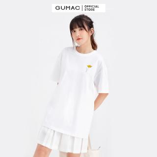 Áo thun nữ in cô gái GUMAC ATB683 thumbnail