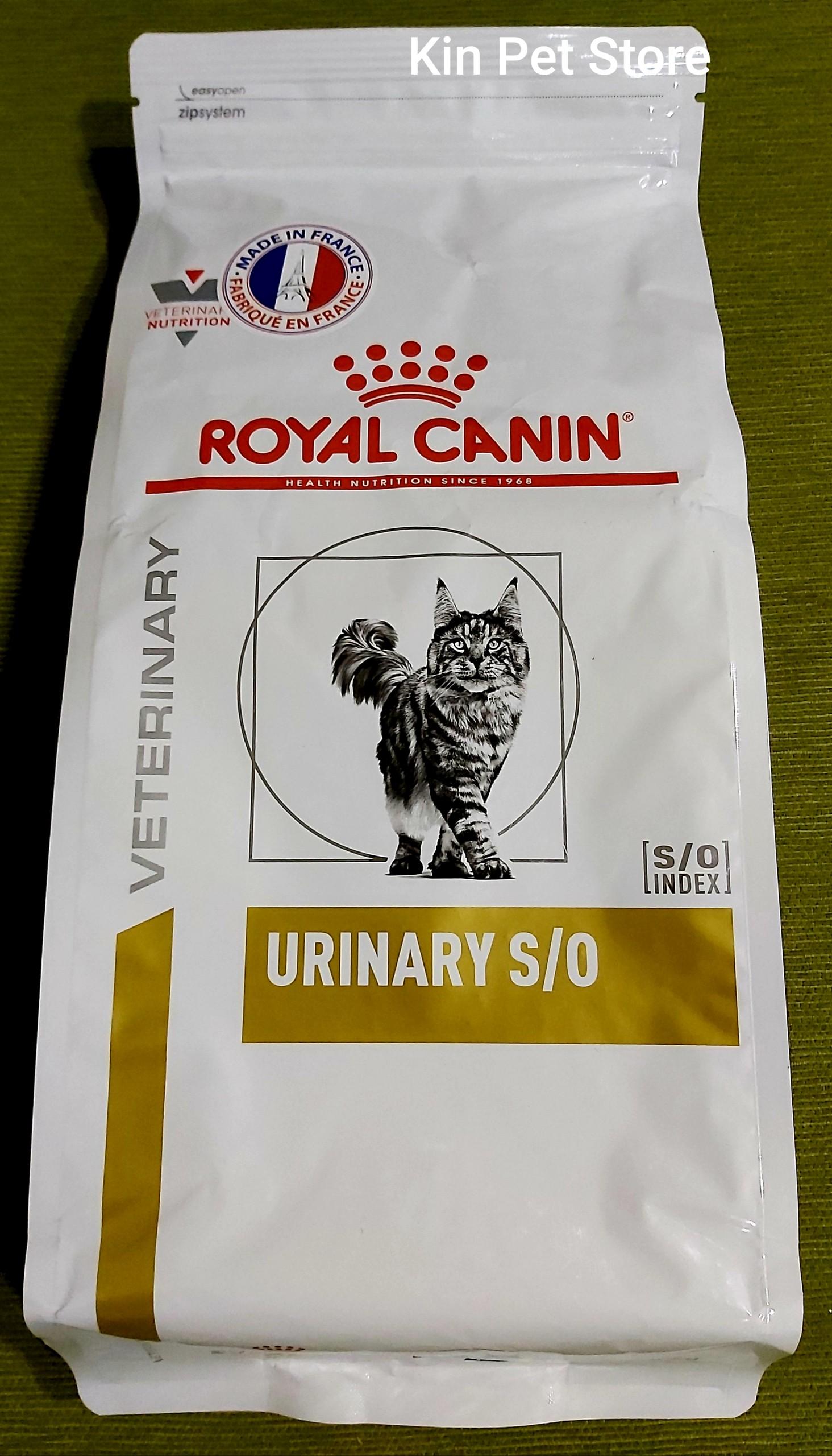 Giá Quá Tốt Để Có ROYAL CANIN URINARY S/O - Thức Ăn Hỗ Trợ Mèo Mắc Bệnh Sỏi Thận -[Túi 1,5kg]