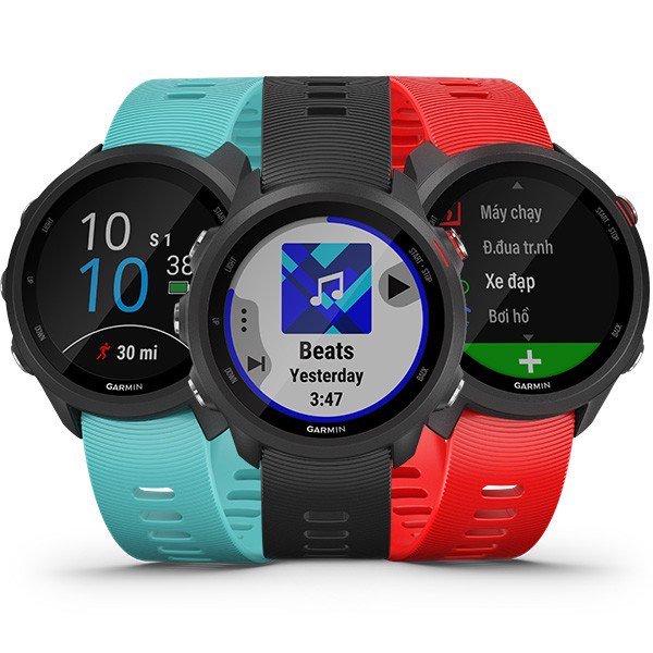 [Trả góp 0%]Đồng hồ thông minh Garmin Forerunner 245 Music