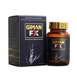 GIMAN FX - Tăng Cường Sinh Lý Nam, Tăng Testosteron Nội Sinh, Bổ Thận Tráng Dương - Hộp 30 Viên thumbnail