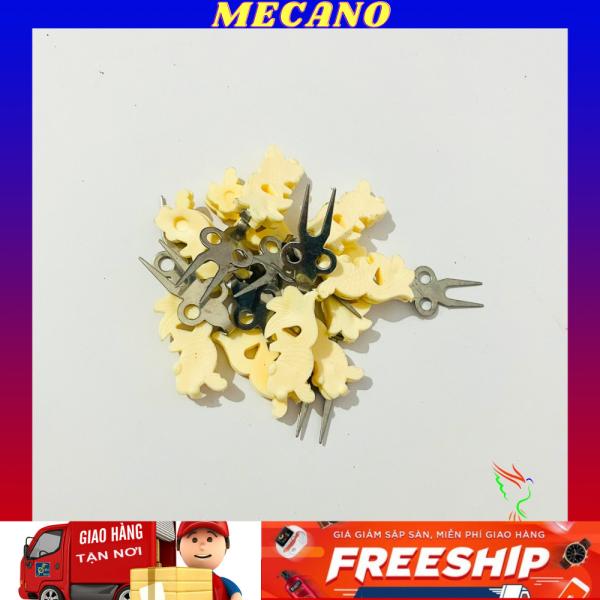 Xiên chuối hoa quả MECANO cho chim chất liệu nhựa bền đẹp giá rẻ