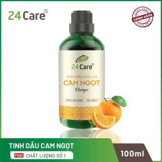 Tinh dầu 24Care chiết xuất nguyên chất 100ml - Giảm căng thẳng, kháng khuẩn, thơm phòng, ngủ ngon thumbnail