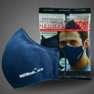 [ Neomask VN] Khẩu Trang Than Hoạt Tính Neomask VC65 - Chống Bụi Mịn P.M 2.5 thumbnail