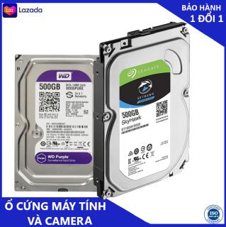 ổ cứng máy tính bàn 500gb dùng cho cả camera chính hãng bảo hành 3 năm thumbnail