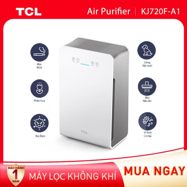 【Siêu lọc bụi bẩn】Máy lọc không khí TCL KJ270F-A1 - Kích thước phòng tối đa 35m² - Bộ lọc Hepa E12 - Bộ lọc 3 lớp - Loại bỏ bụi bẩn trong nhà - Tiếng ồn thấp - Điều chỉnh tốc độ quạt và đèn báo chất lượng không khí