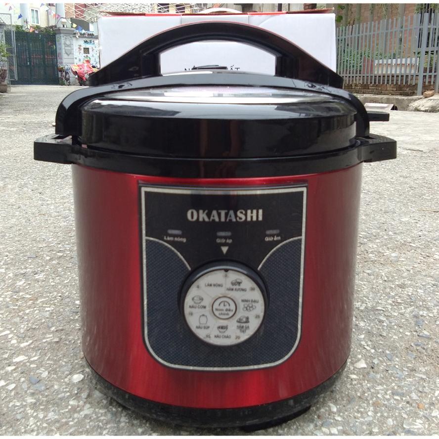 Nồi áp suất đa năng Okatashi nắp rời KL788 R&D Japan Bảo Hành 12Tháng