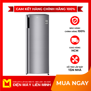 Tủ đông LG Inverter 165 lít GN-F304PS - Tiện ích Công nghệ làm mát các ngăn kệ tủ, giúp tủ mát nhanh hơn, Nút điều khiển nhiệt độ bên ngoài tủ, Tủ có sức chứa 6 kệ và 1 hộc tủ giúp tiện lợi bảo quản thực phẩm thumbnail