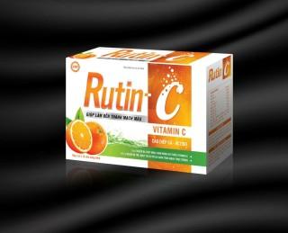Viên Uống Rutin C - Giúp THanh Nhiệt Giải Độc, Mát Gan,Tăng Sức Đề Kháng Và Bền Thành Mạch thumbnail