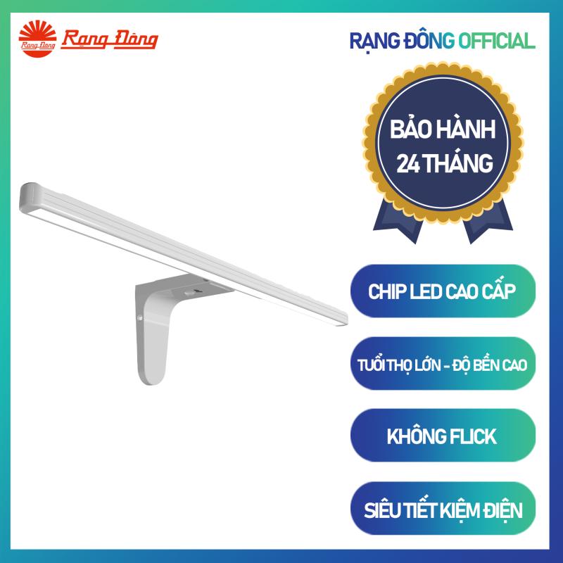 Đèn LED gương cảm biến G04.PIR 8W dùng cho phòng ngủ phòng tắm an toàn siêu tiết kiệm điện chính hãng Rạng Đông