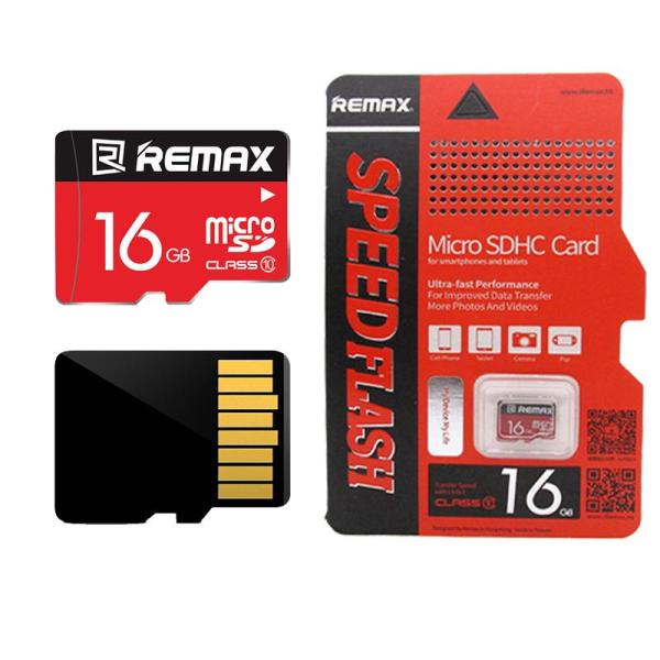 Thẻ nhớ Micro SD Remax Class 10 16GB Chuyên dụng cho Camera