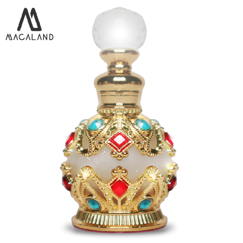 Nước hoa unisex Silver MACALAND đậm đặc 15ml mẫu chai Ai Cập dành cho nam và nữ ưa thích hương mát mẻ nhẹ nhàng nhập khẩu
