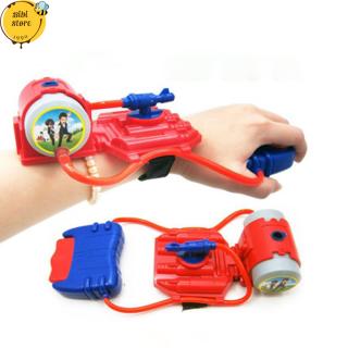 Súng Nước Đồ Chơi - Súng Phun Nước Kiểu Máy Bắn Tơ Người Nhện Đeo Tay SmartHome Toys thumbnail