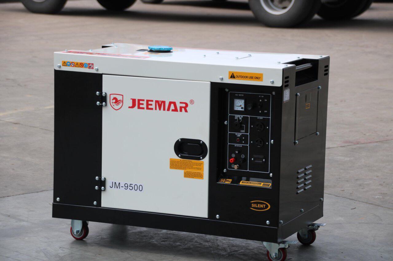 Máy phát điện JEEMAR -JM 9500 Đề nổ, chống ồn tiết kiệm nhiên liệu.