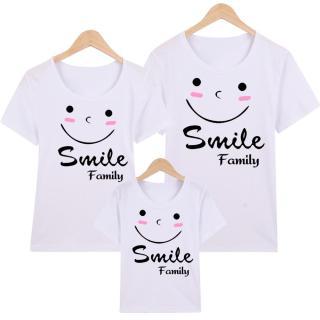Áo Thun Gia Đình in hình Smile Family EGDM28 Thương Hiệu Elsa thumbnail