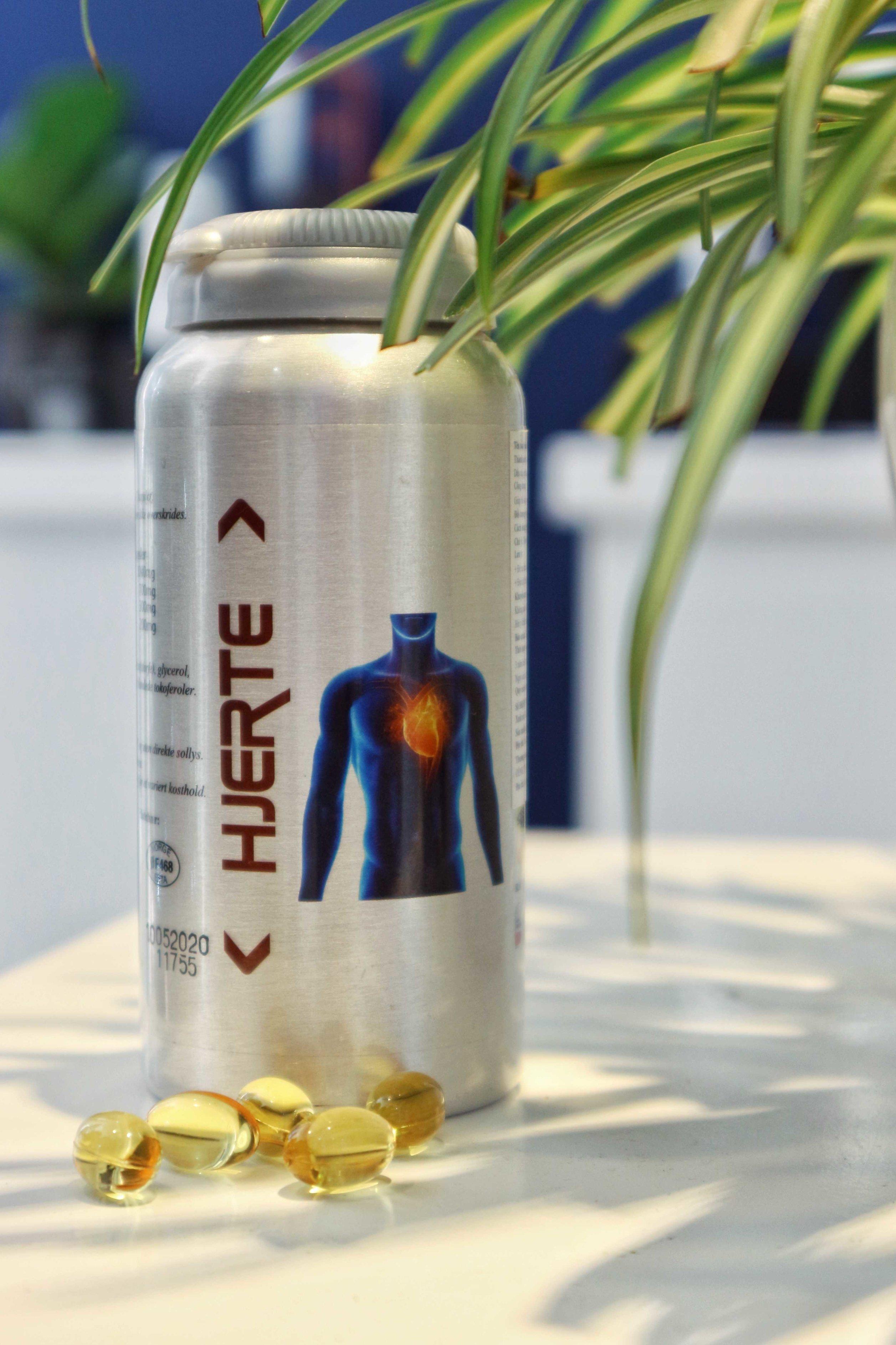 Norsk Omega 3 HJERTE - Tim thêm khỏe mạnh (90 Viên)