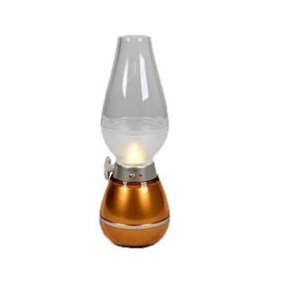 Đèn bàn thờ sạc điện hình đèn dầu thumbnail