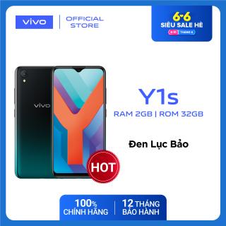 GIÁ SỐC 6-10/6 - Điện thoại Vivo Y1s (2GB/32GB) - ĐỘC QUYỀN ONLINE Hàng chính hãng - Bảo hành 12 tháng