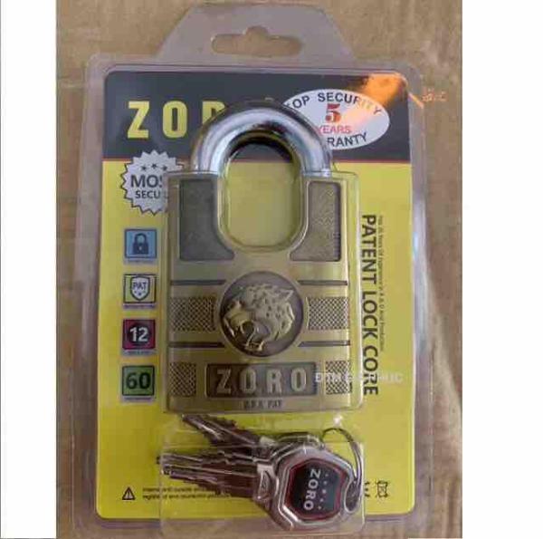 Ổ khoá 6 phân chống cắt chống trộm chìa xe hơi