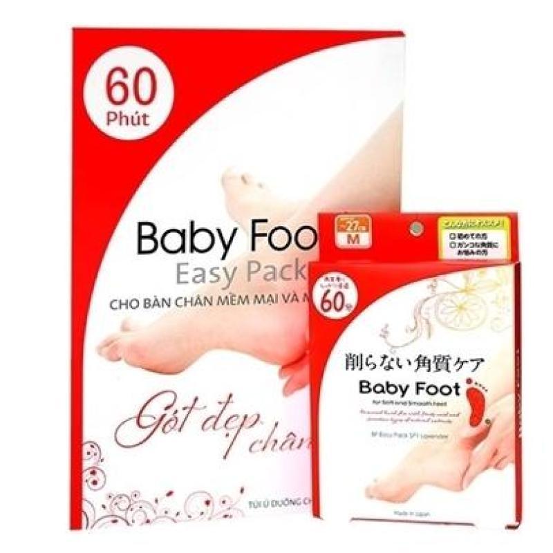 Babyfoot Nhật Bản chữa chai chân nứt nẻ tẩy da chết bàn chân
