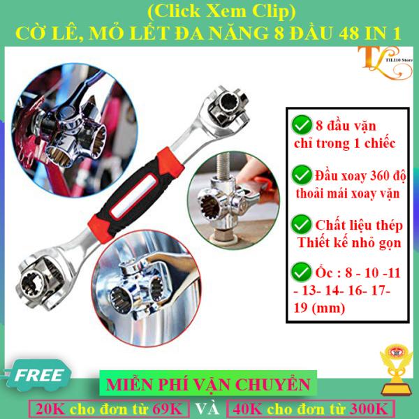 ✅FreeShip-(Xem Clip) Cờ Lê, Mỏ Lết Đa Năng Tiger Wrench 8 Đầu Xoay 360 Độ, Sửa Chữa Đa Năng, Toàn Diện- Chất Lượng 5 Sao, Không Thể Thiếu trong Kho Đồ Nghề-CN10 Store
