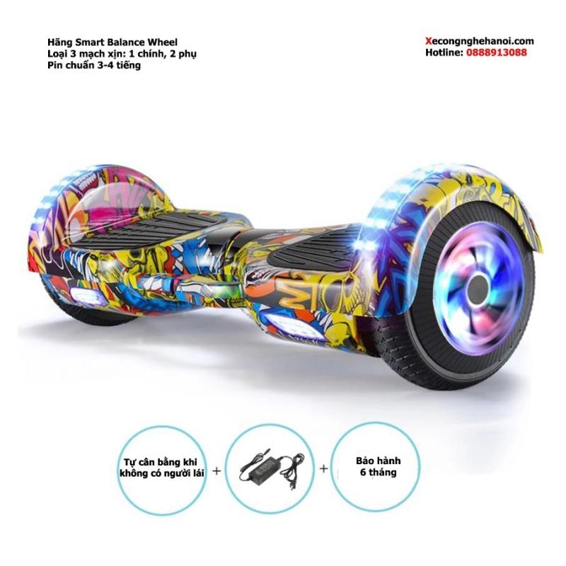 Mua Xe điện cân bằng 6.5inch, xe tự cân bằng blutooth, có loa, đèn led BÁN TẠI Q7 HCM