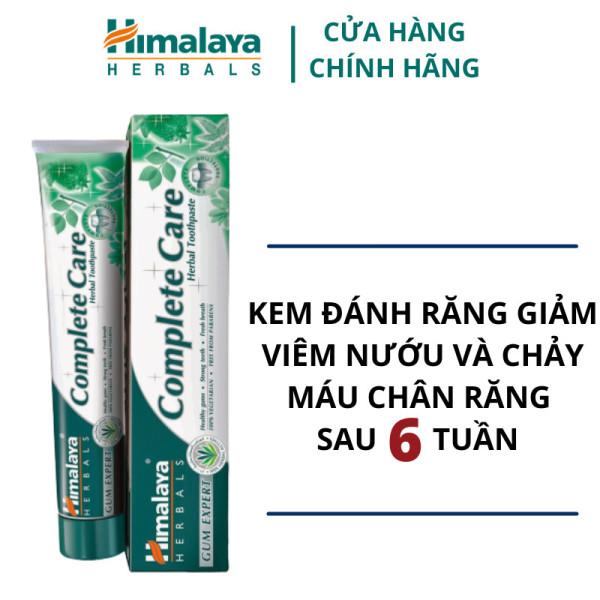 Kem đánh răng bảo vệ nướu, kháng khuẩn(sp kuyen mai HSD 30/09/2021) - Himalaya Complete Care Toothpaste 100g