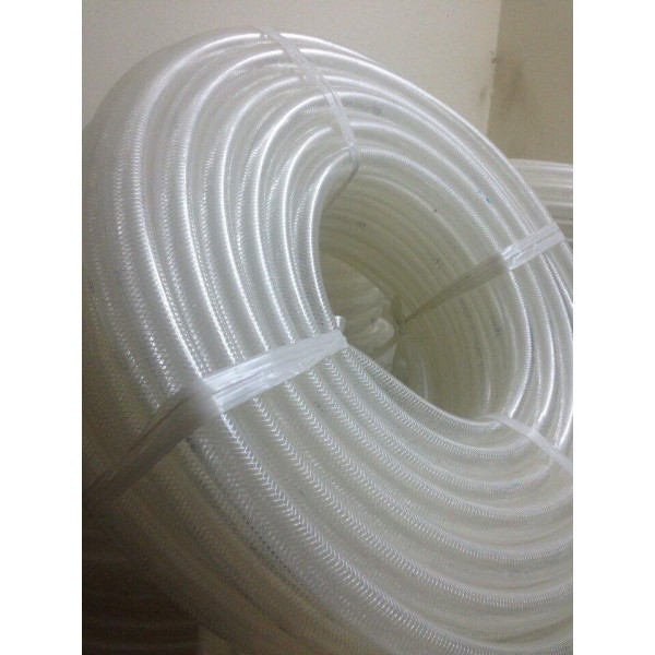 1 CUỘN 50MÉT Ống nhựa mềm dẫn nước màu trắng