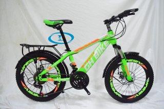 Xe đạp 20 inch nam 3 dĩa 7 líp GH BIKE cao dưới 1m4 chạy thumbnail
