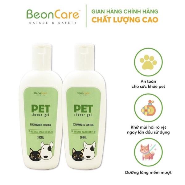 Sữa tắm thú cưng BeonCare hương nước hoa, khử mùi, dưỡng lông chai 200ml LOIRECARE