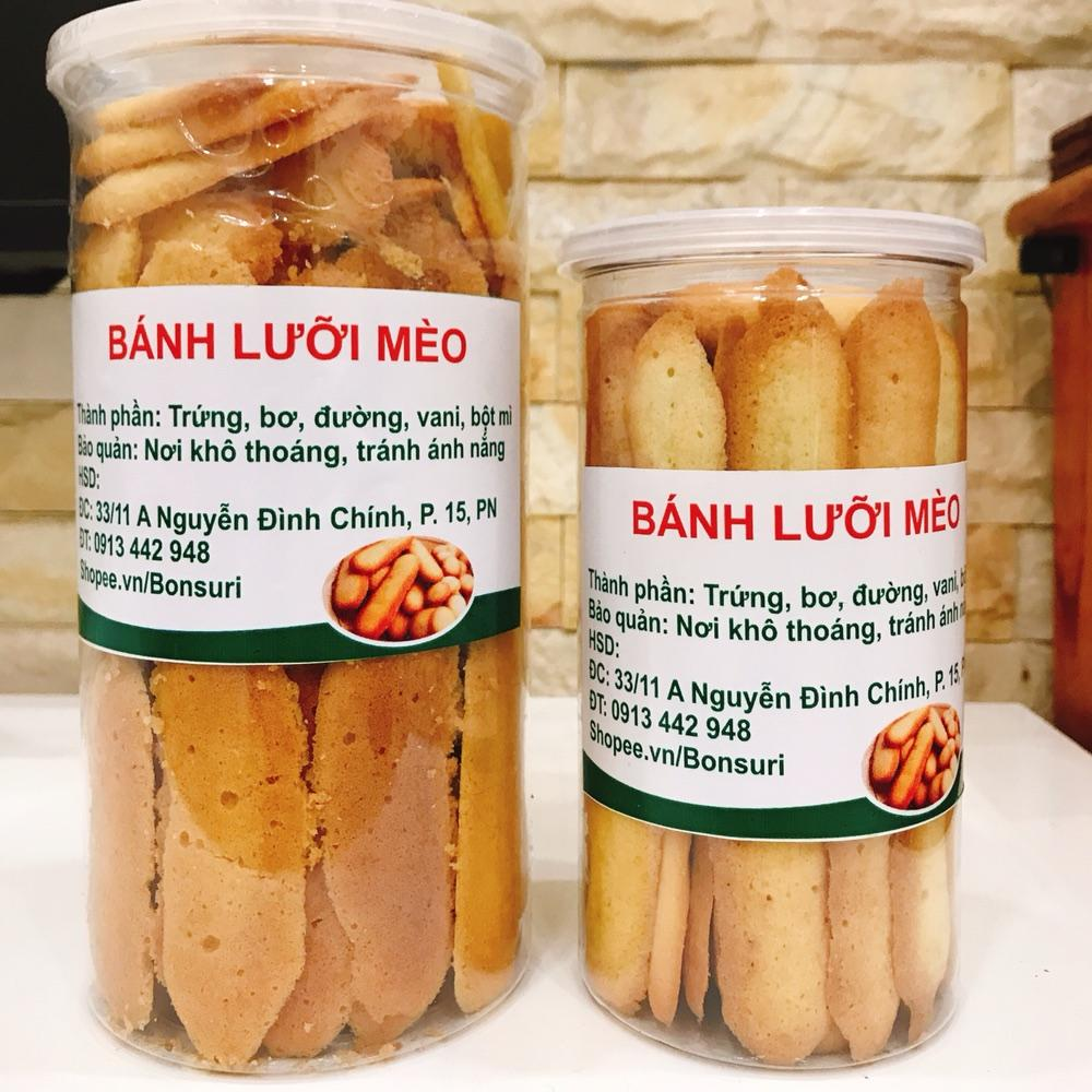 Bánh lưỡi mèo homemade (500gr)
