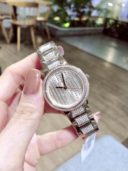 Đồng hồ nữ dây kim loại Michael Kors MK3984 Size 33mm - Fullbox,Đồng hồ nữ mặt tròn,Đồng hồ nữ dây kim loại chống nước bán chạy