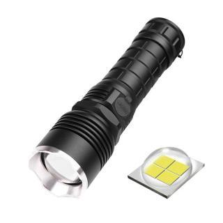 Đèn Pin Chiến Thuật XHP50 Đèn Pin LED 5000 LM Đèn Tuần Tra SOS Đèn Nhấp Nháy thumbnail