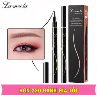 TAKOYA - Bút dạ kẻ mắt sắc nét chống nước LAMEILA bút kẻ mắt nội địa Trung TK-KM02 thumbnail