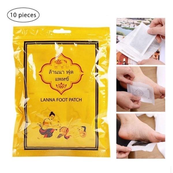 Dán chân thải độc Thái (10 miếng/ Bịch) nhập khẩu