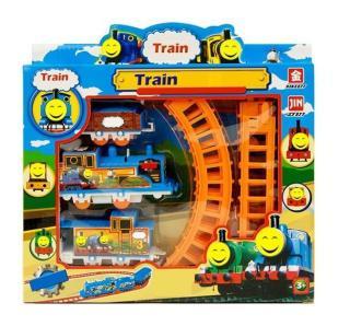 Đồ Chơi Đường Ray Xe Lửa Train Play Set tặng kèm pin.hạnh phúc shop thumbnail